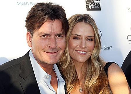 Da hatten sie sich noch lieb: Charlie Sheen und Brooke Mueller - c/o: allisondawnpr.com