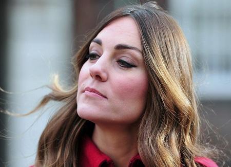 "Eine müde Kate beim ""Poppy Day""   c/o ibtimes.co.uk"