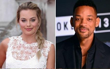 Margot Robbie und Will Smith: Mehr als gute Kollegen? - c/o dailynews.com