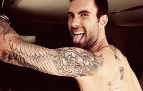 Er ist der Schönste: Adam Levine c/o theberry.com