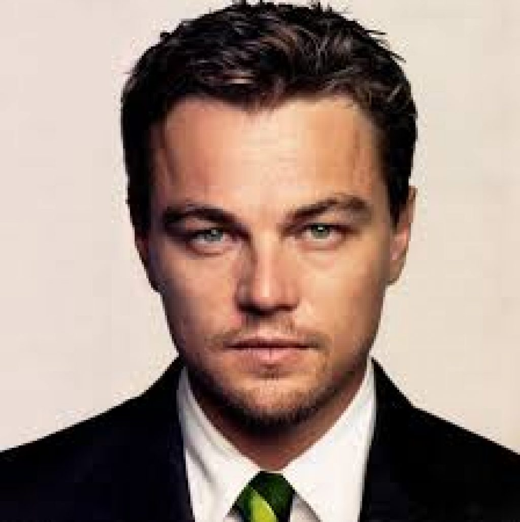 Ein braver Leonardo DiCaprio - aber nur auf dem Bild! c/o kleidung.com