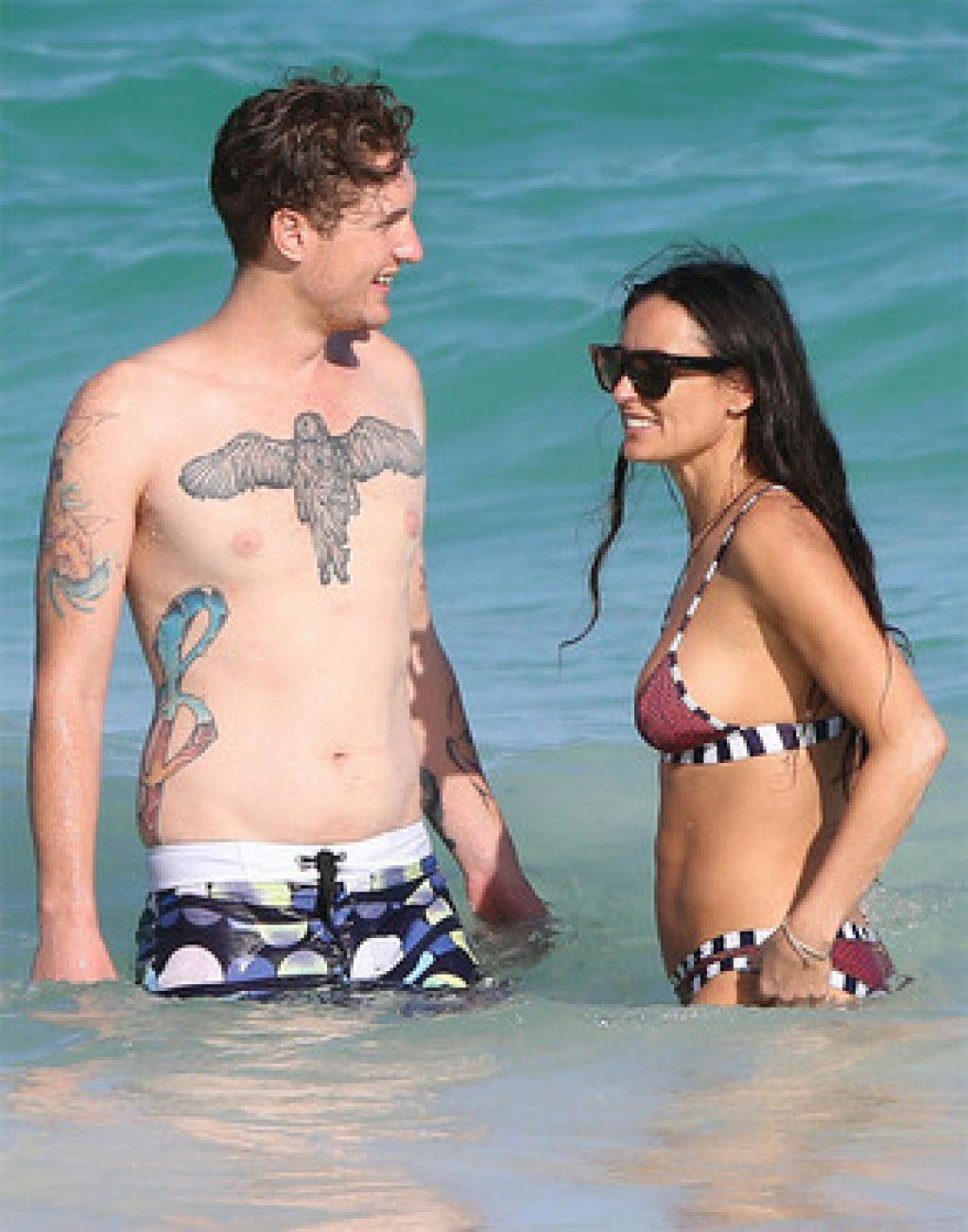 Ob das Bestand hat? Sean Friday und Demi Moore c/o eonline.com