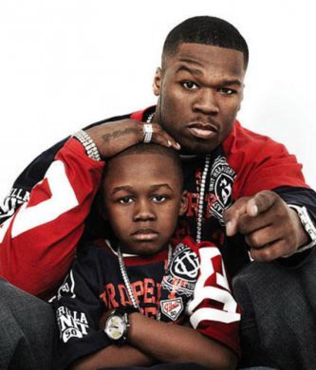 Vater und Sohn - oder doch nicht? 50 Cent und Marquise c/o madamenoire.com