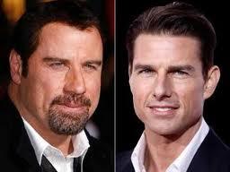 Echte Überzeugte? John Travolta und Tom Cruise c/o abcnews.com