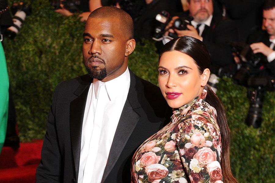 Jede Nachricht wertt: Kanye West und Kim kardashian c/o ryanseacrest.com