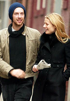 Ein Herz und eine Seele: Chris Martin und Gwyneth Paltrow c/o hookedonhouses.net