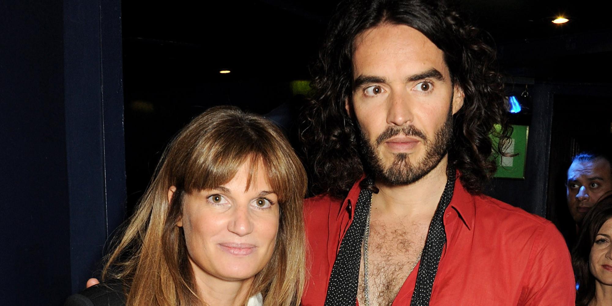 Erst tausende Frauen, jetzt nur noch eine? Russell Brand und Jemima Khan c/o huffingtonpost.co.uk