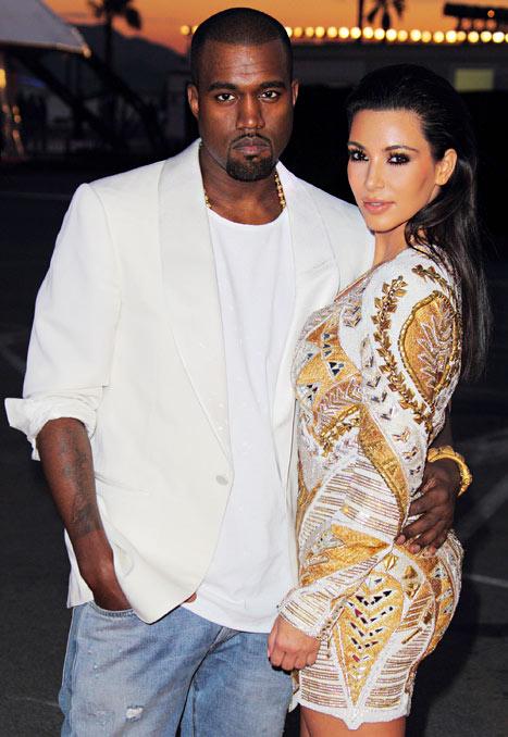 Suchen das Besondere für ihre Hochzeit: Kanye West und Kim Kardashian c/o usmagazine.com