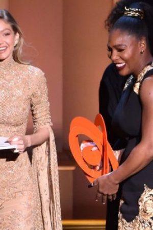 Nur Gigi Hadid kann Serena Williams von Ihrem Baby fernhalten