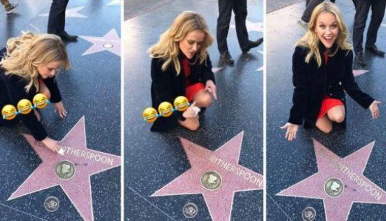 Reese Witherspoon reinigt ihren eigenen Hollywood-Star ist etwas ganz Besonderes