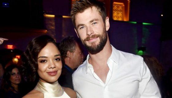 """Chris Hemsworth und Tessa Thompson verlassen Asgard für """"Men in Black"""" Spin-Off."""