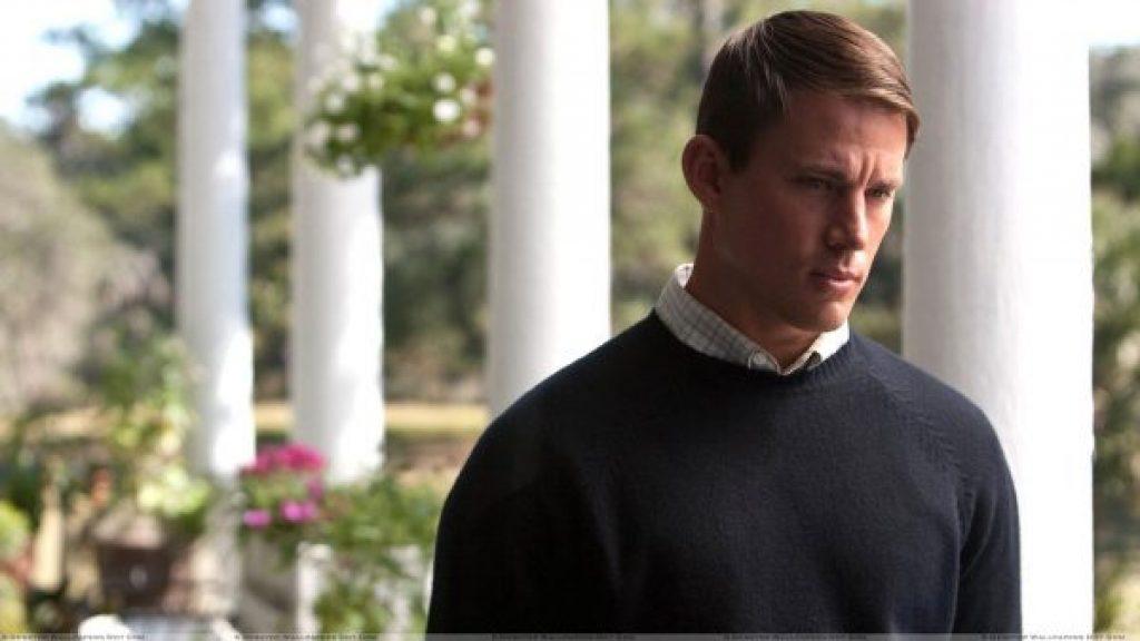 Dear-John-Channing-Tatum-Looking-Sad-In-Woolen-Dress