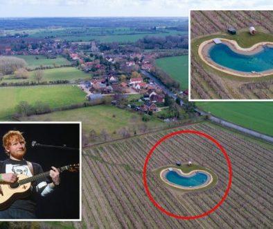 Ed Sheeran ärgerte seine Nachbarn mit dem Wildteich, den er baute