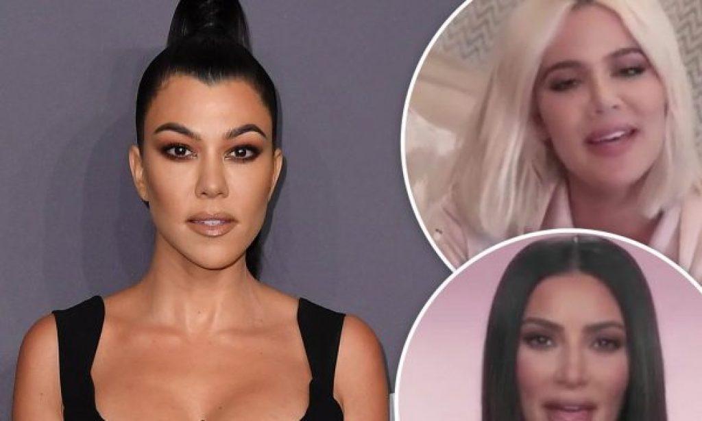 Kourtney Kardashian wird bald 40 Jahre alt und ihre Familie schickt ihr lustige Botschaften
