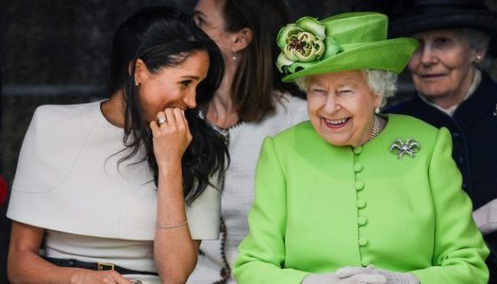 Meghan Markle darf laut Berichten, die Juwelen der königlichen Sammlung der Queen nicht tragen