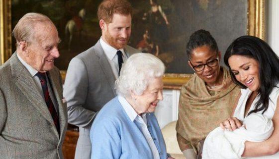 Prinz Harry und Meghan Markle gaben den Namen für ihr Baby bekannt