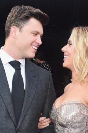 Scarlett Johansson und Colin Jost sind verlobt