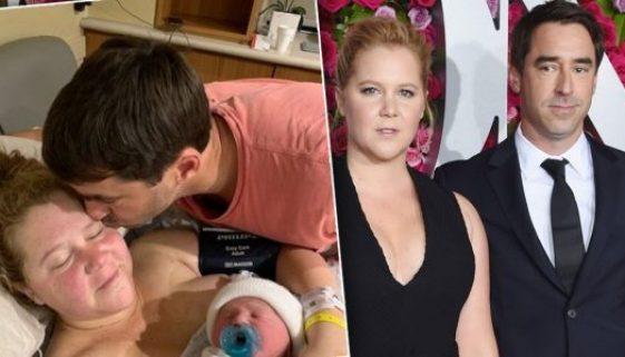 Amy Schumer äußert sich offen über ihre schwierige Schwangerschaft