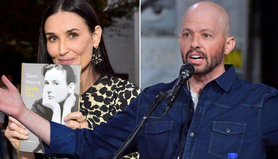 """Jon Cryer von """"Two and a Half Men"""" bestreitet Demi Moores Behauptung, sie habe seine Jungfräulichkeit genommen, als sie """"No Small Affair"""" drehten."""