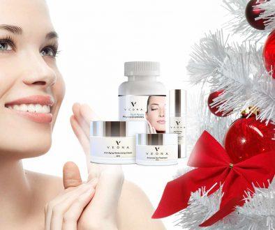 """Veona ist das Geschenk für die Weihnachtszeit, das """"weiter schenkt"""". Erhalten Sie das Strahlen der Prominenz jetzt zu speziellen Preisen."""